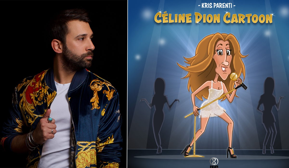 celine dion cartoon kris parenti