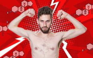 testosterone hormone masculine gay
