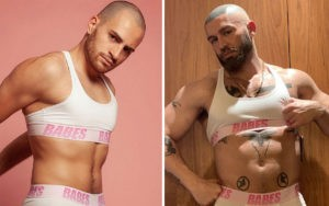 crop top string body homme