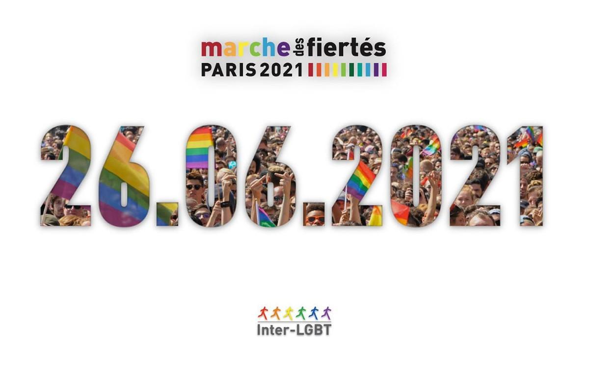 marche des fiertés gay pride paris 2021