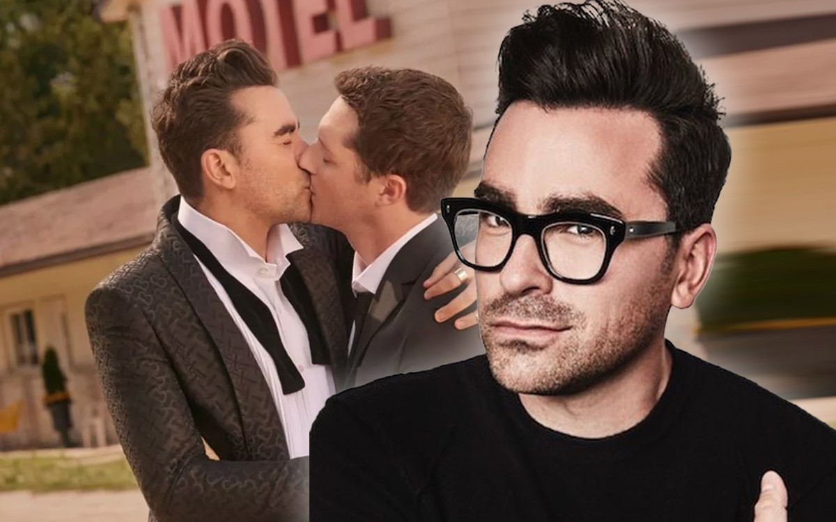 schitt creeks dan levy baiser gay